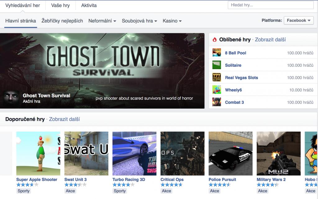 Hry na Facebooku
